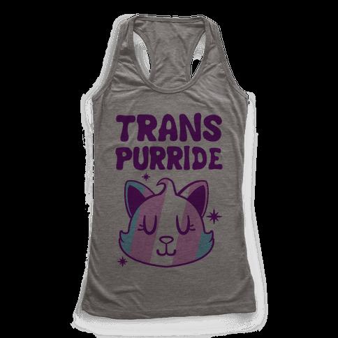 Trans Purride Racerback Tank Top