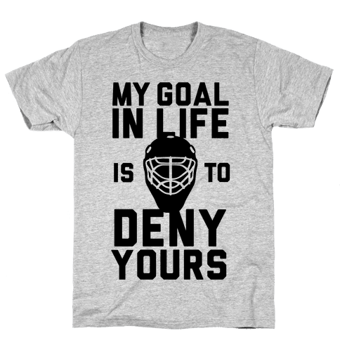 Goal Stopper Mens T-Shirt