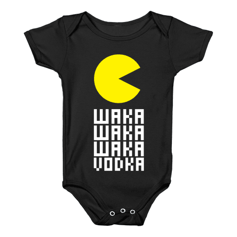 Vodka for Pacman Baby Onesy