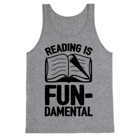 Reading Is Fundamental Tank Top