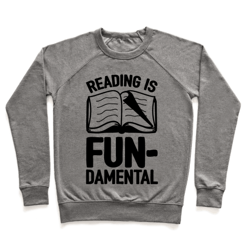 Reading Is Fundamental Pullover