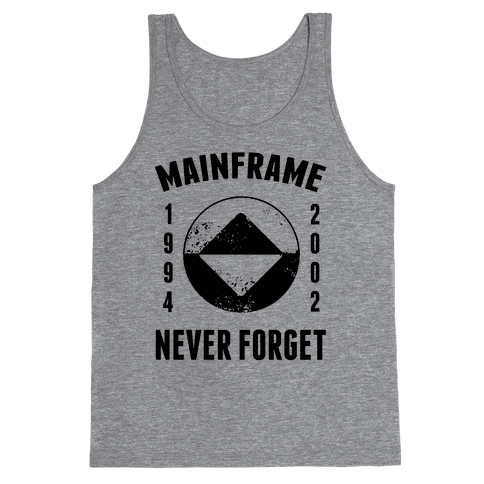 Reboot Mainframe Never Forget Tank Top