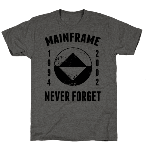 Reboot Mainframe Never Forget