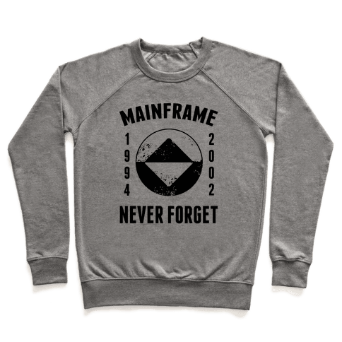Reboot Mainframe Never Forget Pullover
