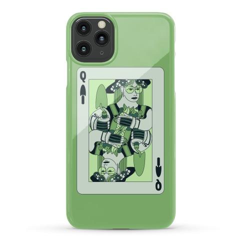Queen Of Garden Spades Phone Case