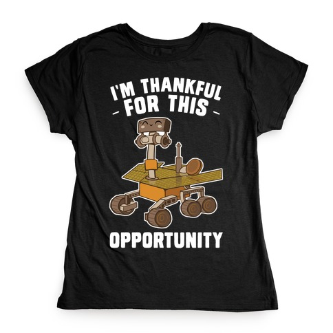 I'm Thankful For this OPPORTUNITY!  Womens T-Shirt