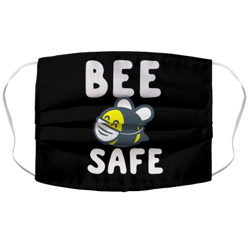 Bee Safe Accordion Face Mask