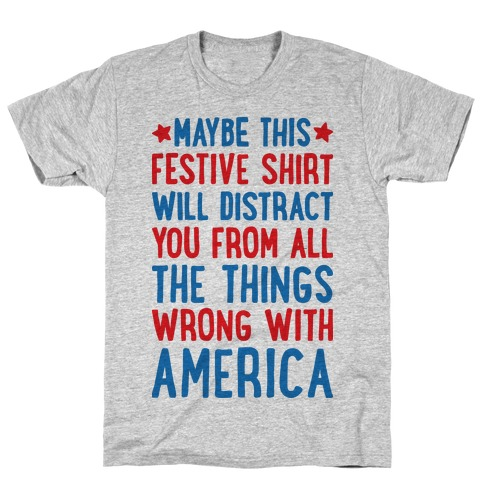 Festive American Distraction T-Shirt