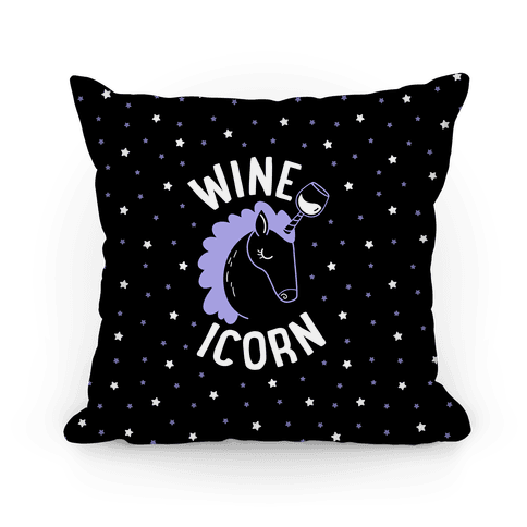 Wineicorn Pillow