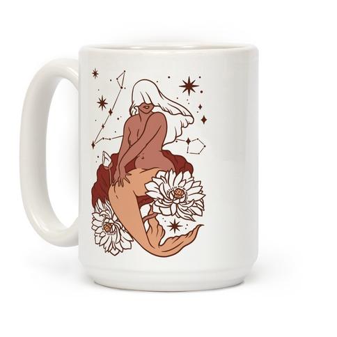 Zodiac Pinup Pisces Coffee Mug