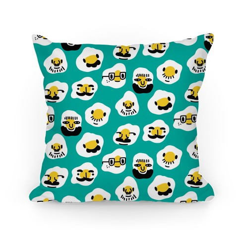 Egg Daddy Pattern Pillow