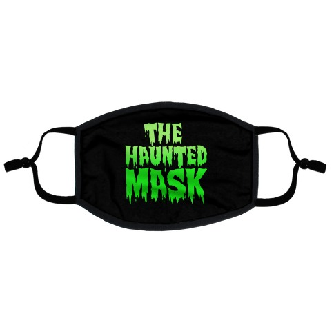 The Haunted Mask Face Mask Parody Flat Face Mask