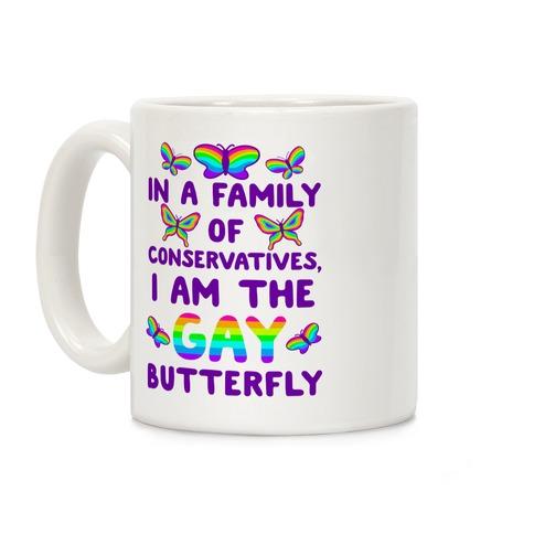 I Am the Gay Butterfly Coffee Mug