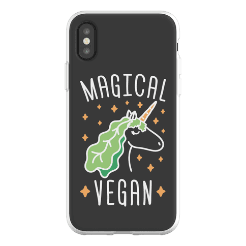Magical Vegan Phone Flexi-Case