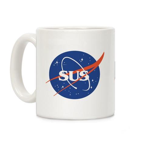Sus Nasa Logo Parody Coffee Mug