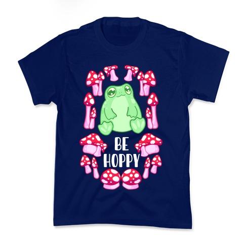 Be Hoppy Frog Kids T-Shirt