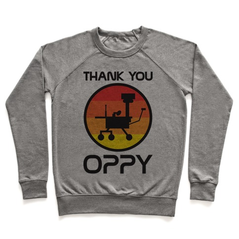 Thank You, Oppy Pullover