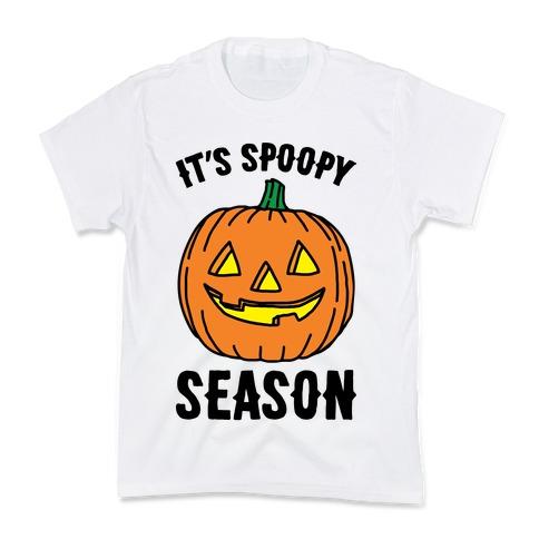 It's Spoopy Season  Kids T-Shirt