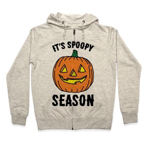 It's Spoopy Season  Zip Hoodie