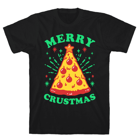 Merry Crustmas Mens T-Shirt