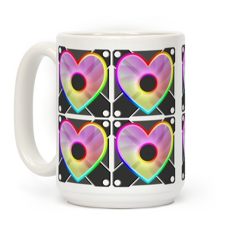 I Love RGB Fan Stack Coffee Mug