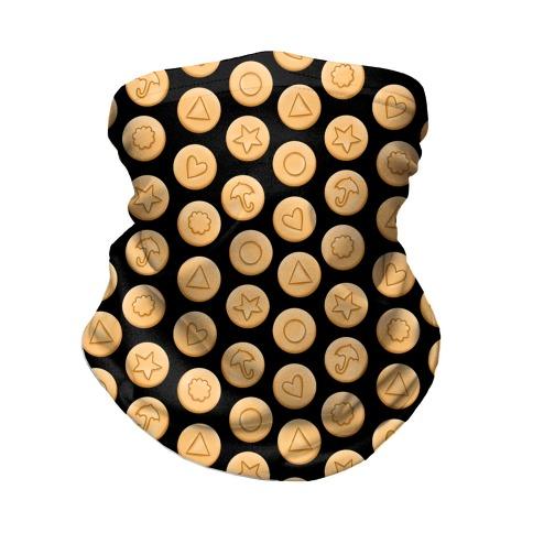 Dalgona Cookies Neck Gaiter