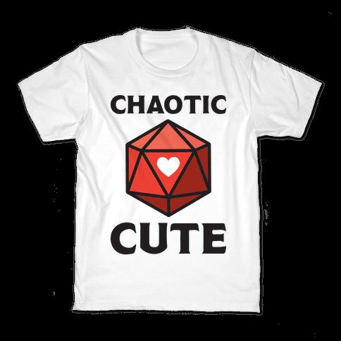 Chaotic Cute Kids T-Shirt