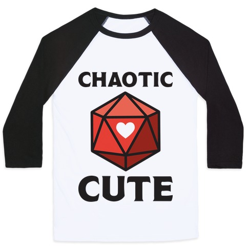 Chaotic Cute Baseball Tee