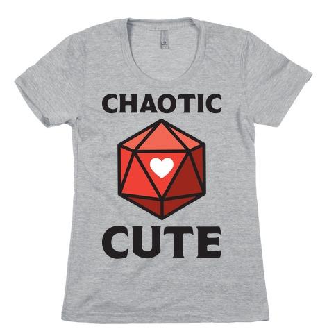 Chaotic Cute Womens T-Shirt