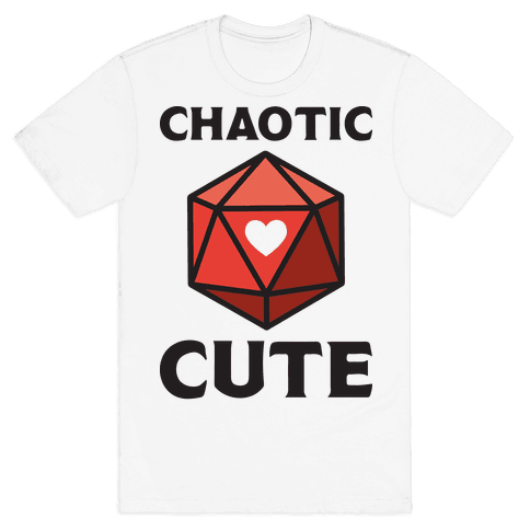 Chaotic Cute Mens T-Shirt