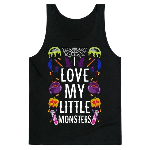I Love My Little Monsters Tank Top