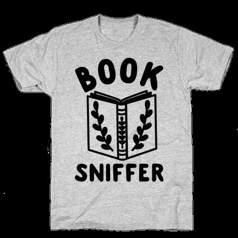 Book Sniffer Mens T-Shirt