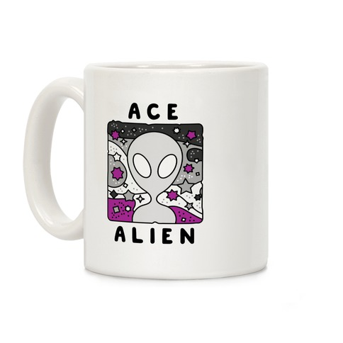 Ace Alien Coffee Mug