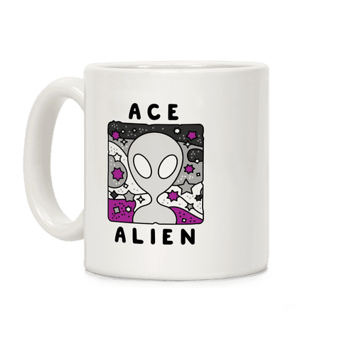 Ace Alien Coffee Mug