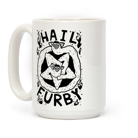 Hail Furby Coffee Mug