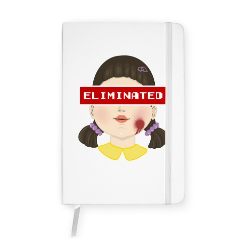 Eliminated (Squid Game) Notebook