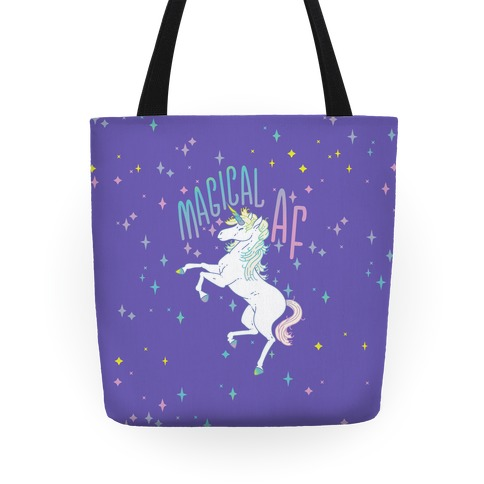 Magical AF Unicorn Tote
