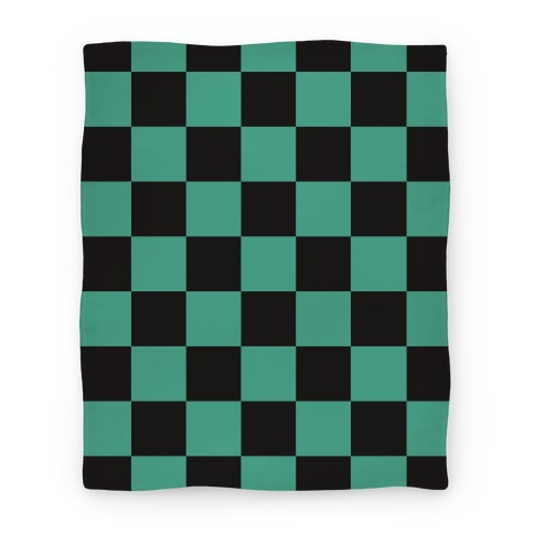 Tanjiro Pattern Blanket
