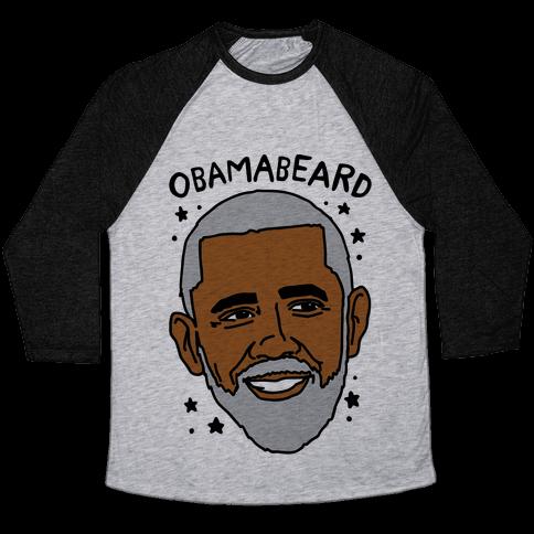 Obamabeard  Baseball Tee