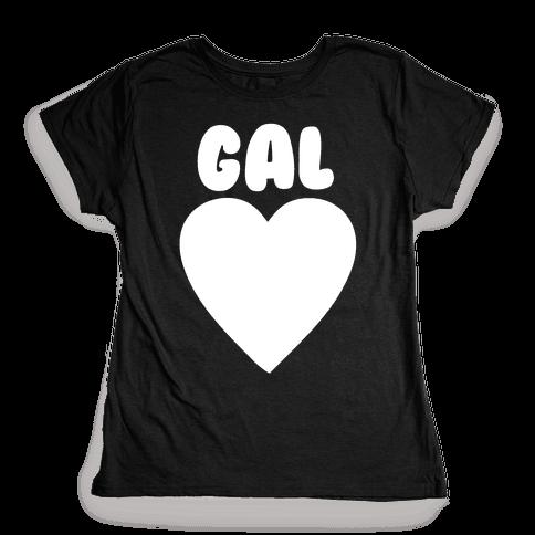 Gal Pals Pair 1 Womens T-Shirt