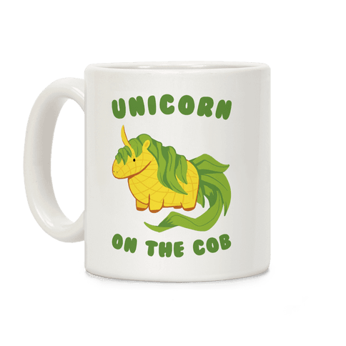 Unicorn On The Cob Coffee Mug