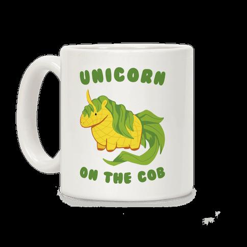 Unicorn On The Cob Coffee Mug