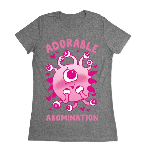 Adorable Abomination Womens T-Shirt