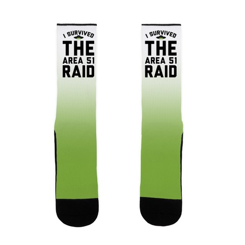 I Survived The Area 51 Raid Parody Sock