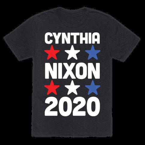 Cynthia Nixon 2020 Mens T-Shirt