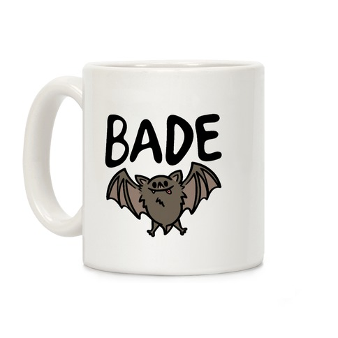 Bade Derpy Bat Parody Coffee Mug