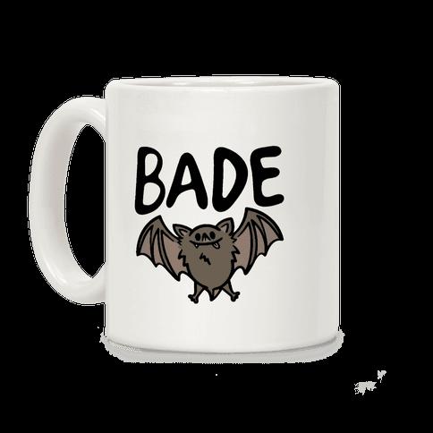 Bade Derpy Bat Parody Coffee Mug