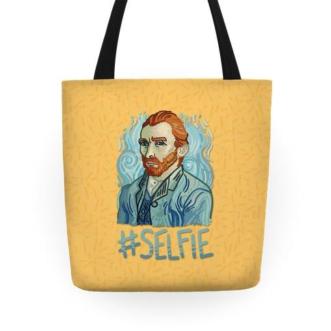 Van Gogh Selfie Tote