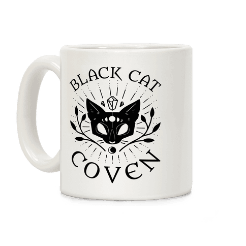 Black Cat Coven Coffee Mug