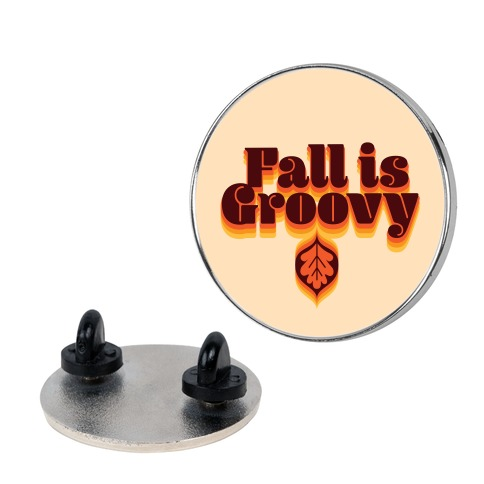 Fall Is Groovy Pin